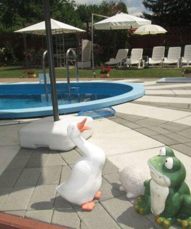 Der Swimmingpool an oder in der Nähe von Apartment Gyenesdias 9